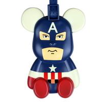 포포베 여행가방 캐릭터 네임택 - 캡틴베어