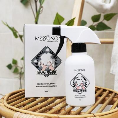 미보노 발샴푸 300ml 풋샴푸 발각질제거