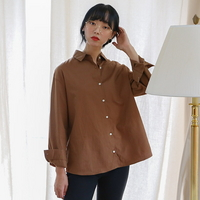 어텀 베이직 셔츠 (3color)