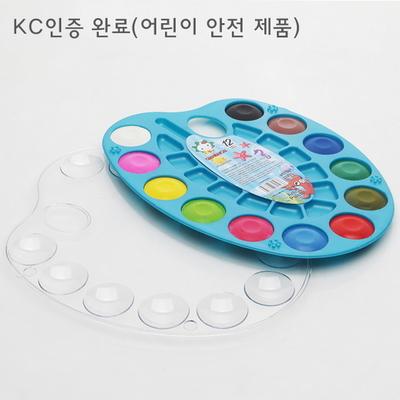 민화샵 고체 물감 세트(팔레트 포함)/그림그리기