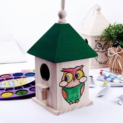 새집 만들기/나무공예/색칠공부