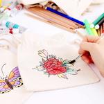 민화 복주머니 만들기 미니 가방 만들기/전통 색칠공부