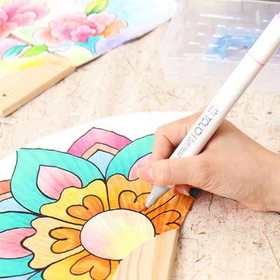 민민화샵 조개부채 부채만들기재료 색칠공부