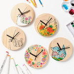 민화 원목 시계만들기 시계무브먼트 포함