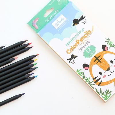 민화샵 유아색연필 12색
