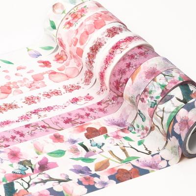 벚꽃 마스킹 디자인테이프 15mm