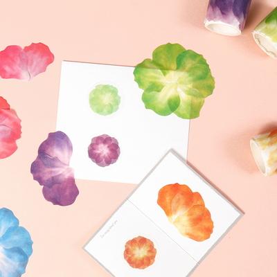 꽃잎 마스킹테이프 스티커