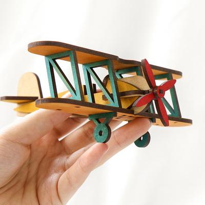 라이트형제비행기만들기 복엽기 나무비행기