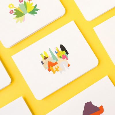 카드편지 생일팝업카드 8종 UFCCA007Z