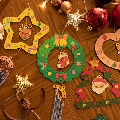 크리스마스 풍경 만들기 튜브벨