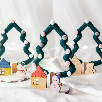 크리스마스 트리만들기 유치원 나무 미니 트리