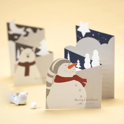 크리스마스 미니 메세지 성탄 카드