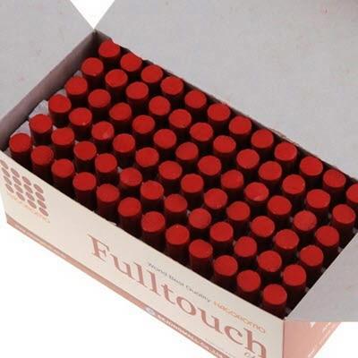하고로모 분필 - 탄산분필 갈색 1통 72(본)
