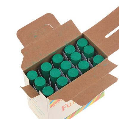 하고로모 분필 - 탄산분필 라지 녹색 1통 15(본)