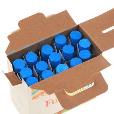하고로모 분필 - 탄산분필 라지 파랑 1통 15(본)