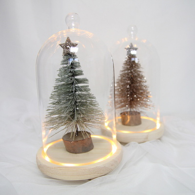 블링한 크리스마스 유리돔