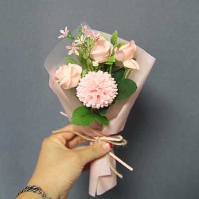 핑크 미니 꽃다발