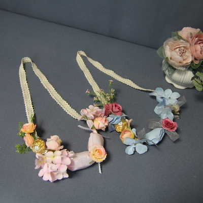 러블리 사탕 꽃목걸이