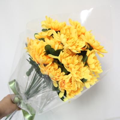 국화 조화꽃다발