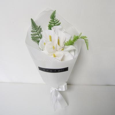 러블리 비누꽃 카라꽃다발