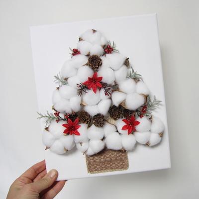 크리스마스트리 캔버스