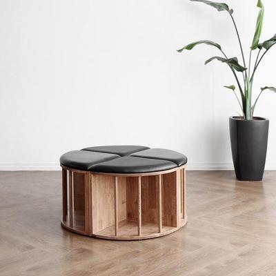 [블랙러버] A1형 V책꽂이 의자