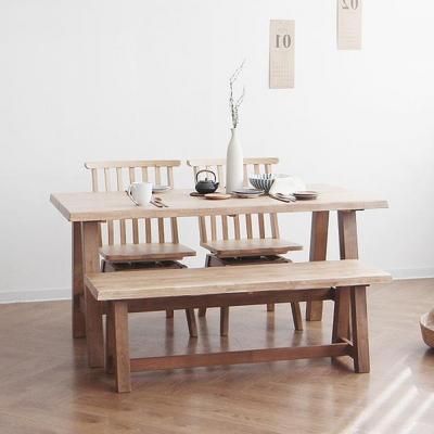 [케인] A형 4인용식탁/테이블 세트