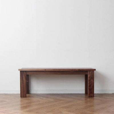 [헤리티지월넛] E형 벤치의자