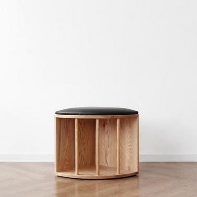 [오크] V책꽂이 의자600