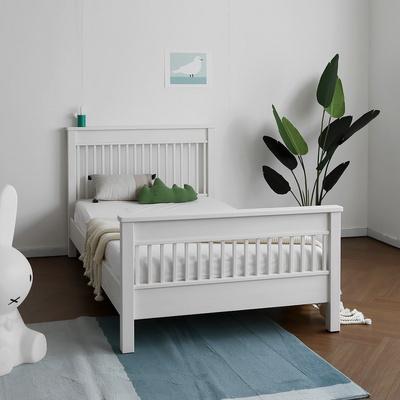 [코코엣지] A형 침대 : 블랑화이트 Q