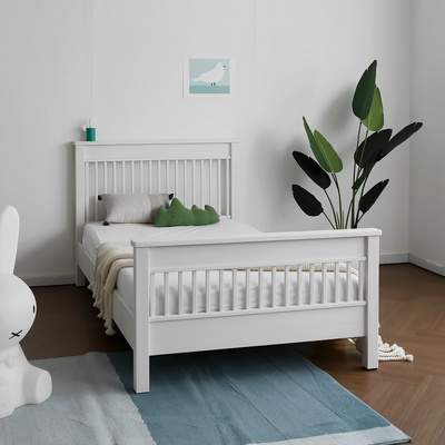 [코코엣지] A형 침대 : 블랑화이트 SS