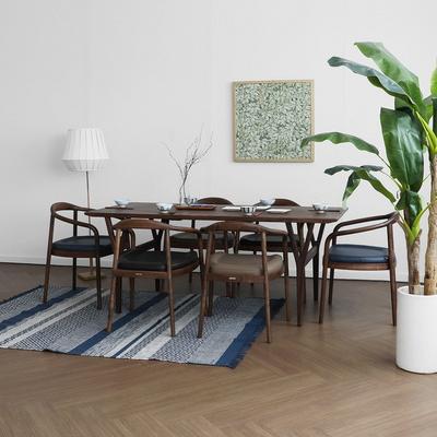 [헤리티지월넛] AH1형 식탁/테이블 세트 1800