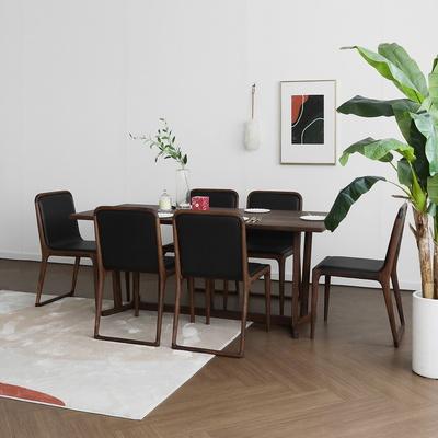 [헤리티지월넛] AG1형 식탁/테이블 세트 1800