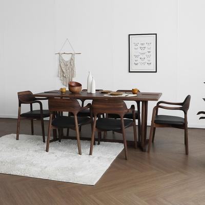 [헤리티지월넛] AG형 식탁/테이블 세트 1800