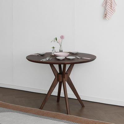 [헤리티지월넛] SEMI 하이엔드 B형 원형식탁/테이블