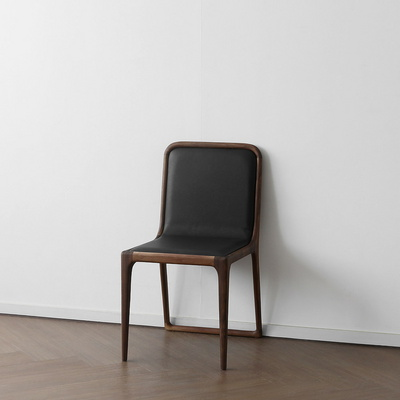 [헤리티지월넛] V형 의자 딥브라운