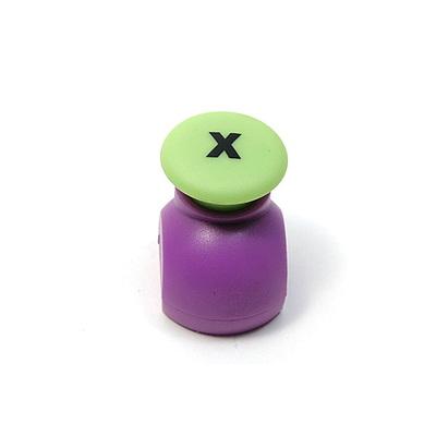 10MM모양펀치 알파벳 X