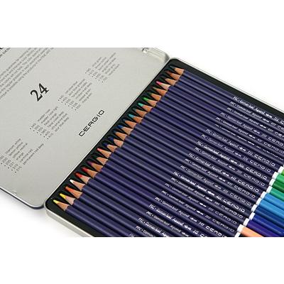 세르지오 수채색연필 24색