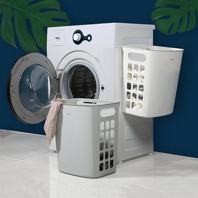 벽걸이 빨래바구니 세탁바구니 이동식 세탁통 빨래통