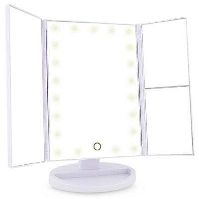 마이프리티 LED화장조명 탁상거울 SM215 대화면확대경