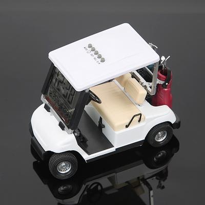 골프카트모형 탁상시계 알람기능