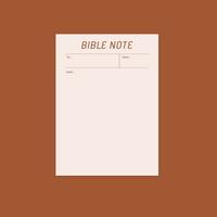 바이블노트(BIBLE NOTE)