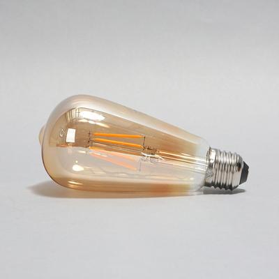 LED에디슨전구 ST64 골든글라스 4W 노란빛 2200K