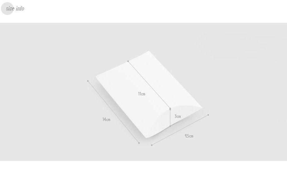 크라프트 반달상자S(3개) - 헬로우모리스, 650원, 상자/케이스, 심플