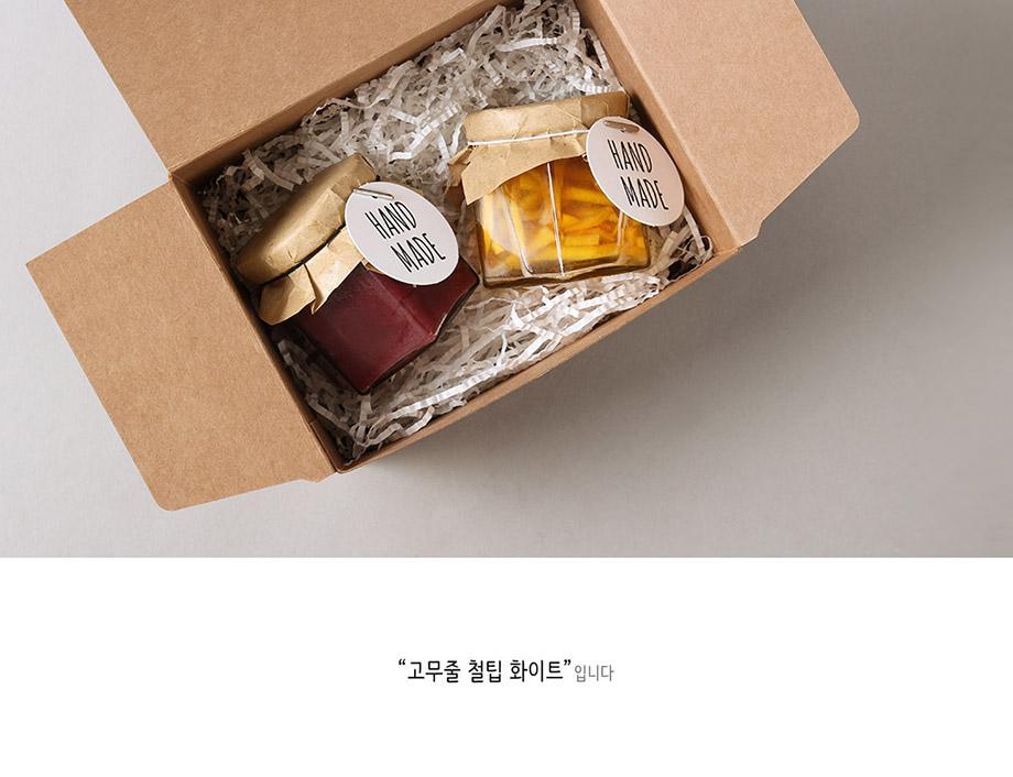 고무줄 철팁 화이트(10개) - 헬로우모리스, 1,200원, 리본/포장소품, 타이/택