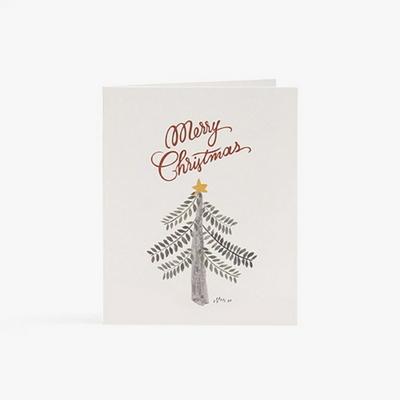 성탄트리 하나 카드