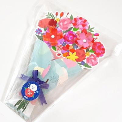 카네이션 꽃다발 카드 만들기