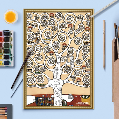 명화 도안 - 생명의 나무 (10매)
