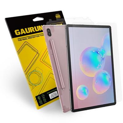 갤럭시탭S6 올레포빅 액정1매+무광 측후면 외부보호필름 1매