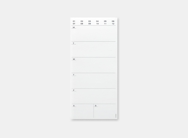 Weekly Pad - 백상점, 3,000원, 스케줄러, 위클리스케줄러